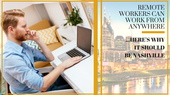 remote workers work from Nashville corporate housing